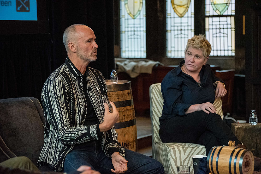 Chip Conley, Airbnb and Liz Lambert, Bunkhouse Group